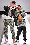 Models walk runway in outfits from the Converse Fall 2015 collection, during the Kids Rock fashion show presented by Haddad Brands, during Mercedes-Benz Fashion Week Fall 2015.