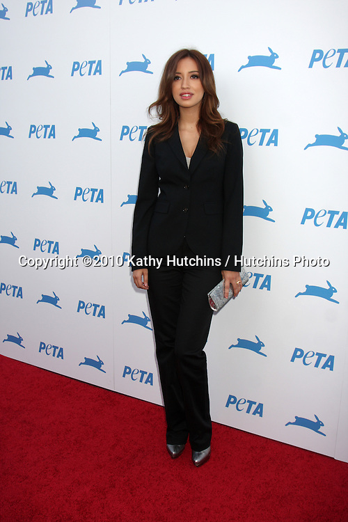LOS ANGELES - SEP 25:  Christian Serratos arrives at the PETA 30th Anniversary Gala at Hollywood Palladium on September 25, 2010 in Los Angeles, CA