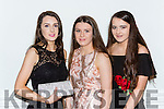 Elizabeth Moloney, Kate Stack, and Edel Harnett at the Dr Crokes GAA club victory banquet in the INEC on Thursday 29th December