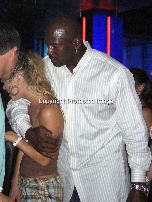 **EXCLUSIVE**.Michael Jordan with Jennifer.The Cove Hotel and Cain Night Club Opening.Aura Night Club.Paradise Island, Bahamas.Friday, May 11, 2007 .Photo By Celebrityvibe.To license this image please call (212) 410 5354; or.Email: celebrityvibe@gmail.com ;