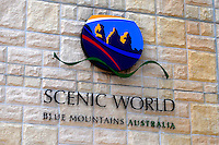 Scenic World, Blue Mountains, New South Wales, Australia, signage, 201003273468..Copyright Image from Victor Patterson, 54 Dorchester Park, Belfast, UK, BT9 6RJ..Tel: +44 28 9066 1296.Mob: +44 7802 353836.Voicemail +44 20 8816 7153.Skype: victorpattersonbelfast.Email: victorpatterson@mac.com.Email: victorpatterson@ireland.com (back-up)..IMPORTANT: If you wish to use this image or any other of my images please go to www.victorpatterson.com and click on the Terms & Conditions. Then contact me by email or phone with the reference number(s) of the image(s) concerned.