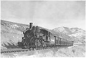 #456 stock train.<br /> D&amp;RGW  Cerro Summit, CO