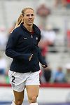 United States' Heather Mitts on Sunday, October 8th, 2006 at University of Richmond Stadium in Richmond, Virginia. The United States Women's National Team defeated Iceland 2-1 in a women's international friendly.