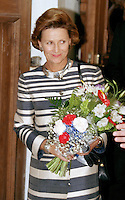 King Harald, and Queen Sonja of Norway, State Visit to Lithuania, Queen Sonja visits The Lutheran Church in Vilnius