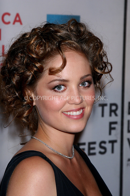 WWW.ACEPIXS.COM . . . . .  ....April 26, 2007. New York City.....Actress Erica Christensen attends the 2007 Tribeca Film Festival premiere of 'Gardener Of Eden' at the Borough of Manhattan Community College.......Please byline: JOHN WARD - ACEPIXS.COM.... *** ***..Ace Pictures, Inc:  ..Philip Vaughan  (646) 769 0430..e-mail: info@acepixs.com..web: http://www.acepixs.com