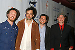 "SAN PEDRO, CA. - March 26: Guster arrive at the ""One Splendid Evening"" sponsored by Carnival Cruise Lines and benefiting VH1 Save The Music held on the Carnival Splendor at Port Of Los Angeles on March 26, 2009 in San Pedro, California."