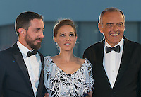 Natalie Portman, Pablo Larrain, Presidents of Venice Film Festival  at the premiere of Jackie at the 2016 Venice Film Festival.<br /> September 7, 2016  Venice, Italy<br /> CAP/KA<br /> &copy;Kristina Afanasyeva/Capital Pictures /MediaPunch ***NORTH AND SOUTH AMERICAS ONLY***
