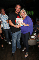 Anthony Cracchiolo and Linda Torres attend Inked Magazine release party celebrating August issue, New York. July 17, 2012 &copy; Diego Corredor/MediaPunch Inc. /NortePhoto.com<br />