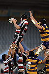 Ross Kennedy claims lineout ball during the Air NZ Cup rugby game between Bay of Plenty & Counties Manukau played at Blue Chip Stadium, Mt Maunganui on 16th of September, 2006. Bay of Plenty won 38 - 11.