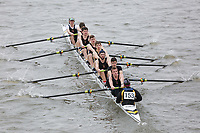 Crew: 153   Van Mildert College, Durham    <br /> <br /> Eights Head of the River (HoRR) 2018<br /> <br /> To purchase this photo, or to see pricing information for Prints and Downloads, click the blue 'Add to Cart' button at the top-right of the page.