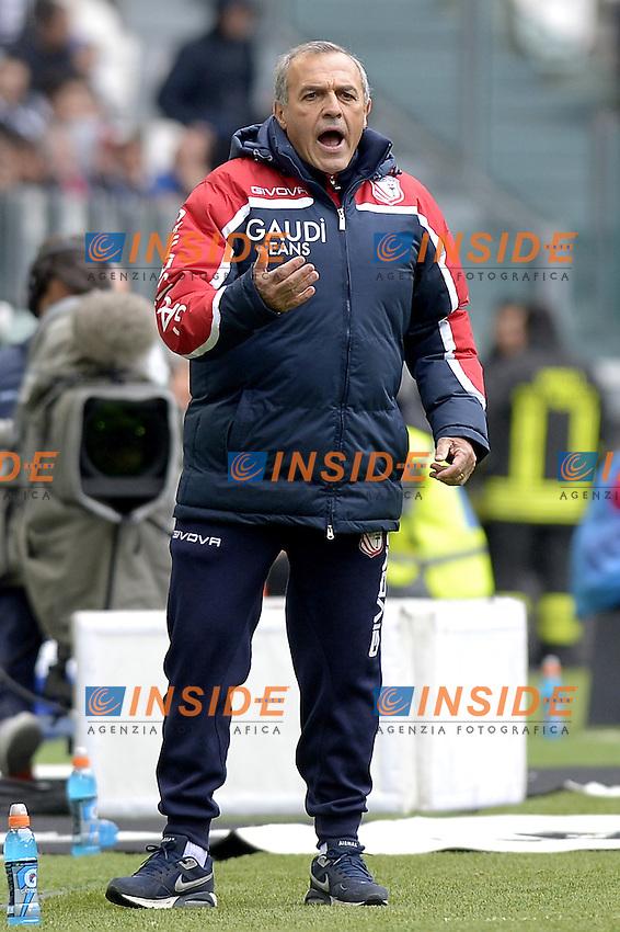 Fabrizio Castori,<br /> Torino 01-05-2016, Juventus Stadium, Football Calcio 2015/2016 Serie A, Juventus - Carpi, Foto Filippo Alfero/Insidefoto