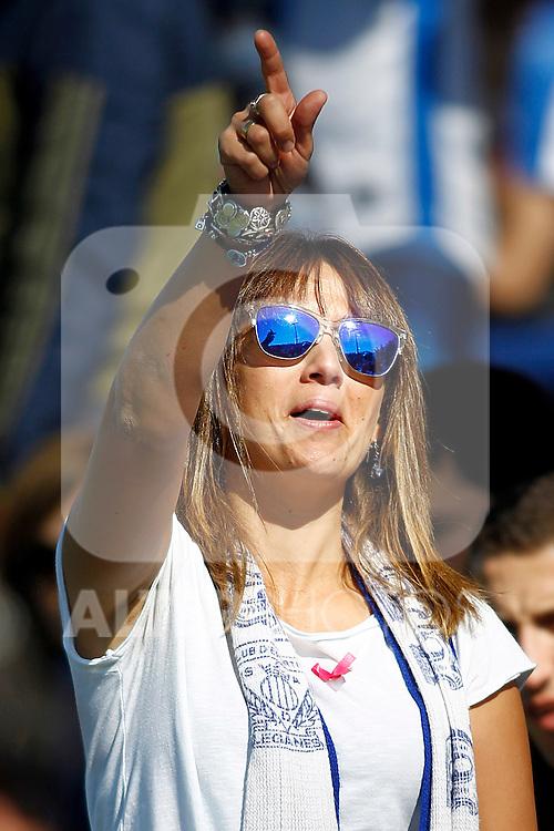CD Leganes' supporter during La Liga match. October 15,2016. (ALTERPHOTOS/Acero)