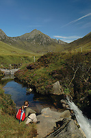 Glen Rosa and Cir Mhor, Isle of Arran, Ayrshire<br /> <br /> Copyright www.scottishhorizons.co.uk/Keith Fergus 2011 All Rights Reserved
