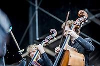 Jakob Stegelmann og Aarhus Symfoniorkester paa Helviti.  Copenhell 2018 p&aring; Refshale&oslash;en i K&oslash;benhavn. Fire dage med rock, metal og dedikerede fans.<br /> <br /> Copenhell 2018 on Refshale Island in Copenhagen. Four days of rock, metal and dedicated fans.<br /> <br /> Foto: Jens Panduro<br /> <br /> Copenhagen, Copenhell, musikfestival, festival, musik, rockmusik, metal, hardcore, thrashmetal, punk, punkrock, metalcore, Refshale&oslash;en, Reffen, koncerter, rockkoncerter., Music Festival, Music, Rock Music, Thrash Metal, Refshale Island, Concerts, Rock Concerts.