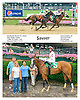 Sawyer winning at Delaware Park on 7/4/15