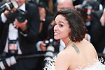 """72nd edition of the Cannes Film Festival in Cannes in Cannes, southern France on May 21, 2019. Red Carpet for the screening of the film """"Once Upon a Time... in Hollywood"""" Michelle Rodríguez on the red carpet.<br /> © Pierre Teyssot / Maxppp"""