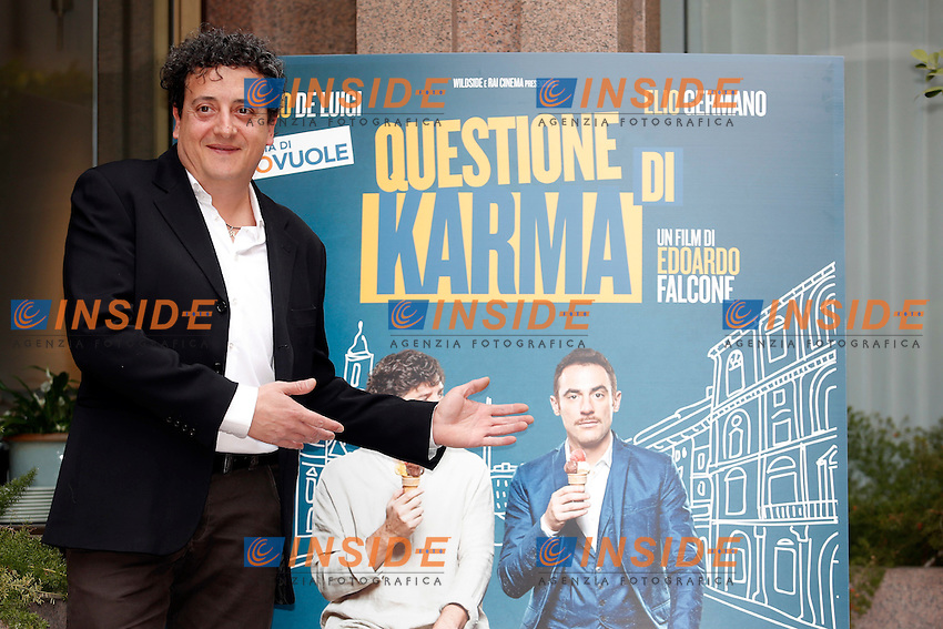Massimo De Lorenzo<br /> Roma 06-03-2017. Questione di Karma Photocall<br /> Foto Samantha Zucchi Insidefoto