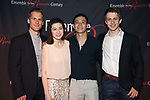 "Adrian Kramer, Stephanie Zyzak, Ji, Ari Evans attends the Opening Night After Party for the Ensemble for the Romantic Century production of ""Tchaikovsky: None But the Lonely Heart"" Off-Broadway Opening Night  at West Bank Cafe on May 31, 2018 in New York City."