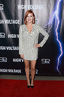 "LOS ANGELES - OCT 16:  Grace Bannon at the ""High Voltage"" Los Angeles Red Carpet Premiere at the TCL Chinese 6 Theater on October 16, 2018 in Los Angeles, CA"