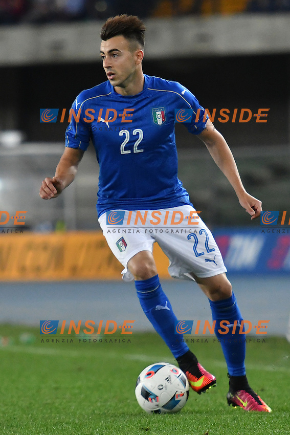 Stephan El Shaarawy Italia <br /> Verona 06-06-2016 Stadio Bentegodi Football Friendly Match Italia - Finlandia / Italy - Finland . Foto Andrea Staccioli / Insidefoto