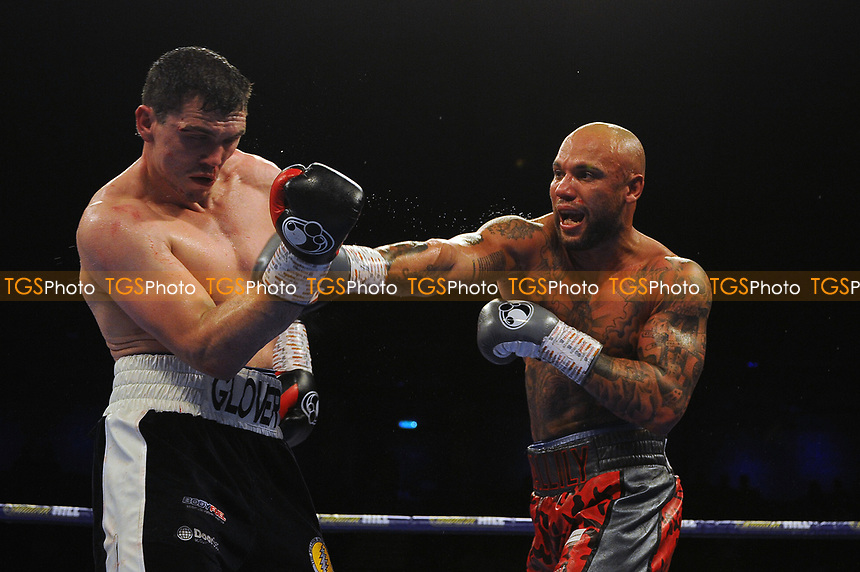 Craig Glover defeats Simon Validly via 8th round stoppage  during a Boxing Show at the Metro Radio Arena on 13th October 2018
