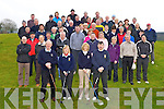 Castleisland Golf club members who turned out for the club's Captain's drive on Sunday morning front row l-r: Patsy Sullivan President, Breda Geaney Lady President, Marie O'Connor Lady Captain and Con Murphy Captain........