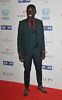 Oumar Niasse at the Football For Peace Initiative Dinner by Global Gift Foundation, Corinthia Hotel, Whitehall Place, London, England, UK, on Monday 08th April 2019.<br /> CAP/CAN<br /> &copy;CAN/Capital Pictures