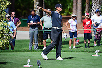 Whee Kim (KOR) reacts to his tee shot on 9 during round 1 of the Honda Classic, PGA National, Palm Beach Gardens, West Palm Beach, Florida, USA. 2/23/2017.<br /> Picture: Golffile | Ken Murray<br /> <br /> <br /> All photo usage must carry mandatory copyright credit (&copy; Golffile | Ken Murray)
