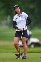 Nuria Iturrioz (ESP) watches her tee shot on 12 during round 4 of the KPMG Women's PGA Championship, Hazeltine National, Chaska, Minnesota, USA. 6/23/2019.<br /> Picture: Golffile | Ken Murray<br /> <br /> <br /> All photo usage must carry mandatory copyright credit (© Golffile | Ken Murray)