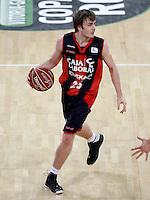 Caja Laboral Baskonia's David Jelinek during Spanish Basketball King's Cup match.February 07,2013. (ALTERPHOTOS/Acero)