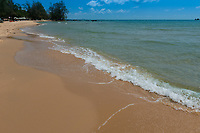 Clear water of Siam bay on western side of Phuquoc island, Vietnam