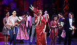 """Lilli Cooper, Santino Fontana, Sarah Stiles and Reg Rogers with cast during the Broadway Opening Night of """"Tootsie"""" at The Marquis Theatre on April 22, 2019  in New York City."""