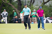 Sergio Garcia (ESP), John Rahm (ESP) on the 7th during the 3rd round at the WGC Dell Technologies Matchplay championship, Austin Country Club, Austin, Texas, USA. 24/03/2017.<br /> Picture: Golffile | Fran Caffrey<br /> <br /> <br /> All photo usage must carry mandatory copyright credit (&copy; Golffile | Fran Caffrey)