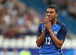 France's Kylian M'Bappe in action during the Friendly match at Stade De France Stadium, Paris Picture date 13th June 2017. Picture credit should read: David Klein/Sportimage