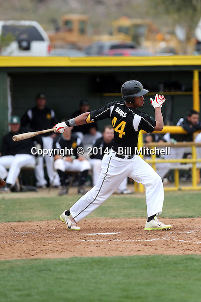 Manny Ramirez Jr - 2014 Central Arizona College Vaqueros (Bill Mitchell)