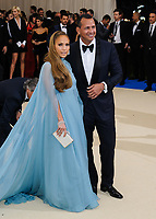 09 March 2018 - Music icon Jennifer Lopez and retired baseball star Alex Rodriguez are engaged after two years of dating. The couple then made their red carpet debut at the Met Gala in May 2017  and have inseparable since. File photo: 01 May 2017 - New York, New York - Jennifer Lopez, Alexander Rodriguez. 2017 Metropolitan Museum of Art Costume Institute Benefit Gala at The Metropolitan Museum of Art. Photo Credit: Christopher Smith/AdMedia