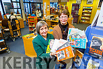 Librarians Aileen Lynch and Patti-Ann O'Leary of Kerry Library, Tralee with some of the most popular books of 2015