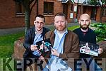 Matt Dean, Noel McAuliffe and Daragh Hogan who put a poem based on Conor McGregor online.