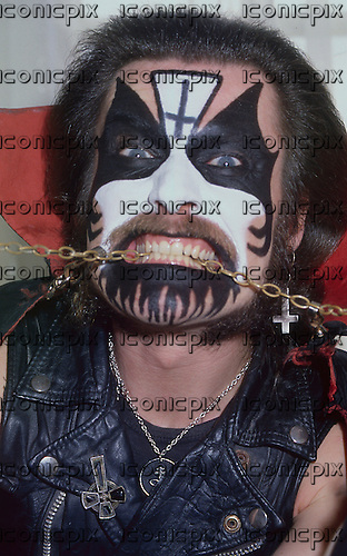 KING DIAMOND - Photosession in 1987.  Photo credit: PG Brunelli/IconicPix