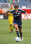 16 June 2007: New England's Wells Thompson.  The New England Revolution tied the Columbus Crew 3-3 at Gillette Stadium in Foxboro, Massachusetts in a regular season Major League Soccer 2007 game.