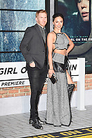 Neil Jones and Katya Virshilas<br /> at the premiere of &quot;The Girl on the Train&quot;, Odeon Leicester Square, London.<br /> <br /> <br /> &copy;Ash Knotek  D3156  20/09/2016
