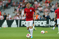 Ben Chilwell of England before England Under-21 vs Poland Under-21, UEFA European Under-21 Championship Football at The Kolporter Arena on 22nd June 2017