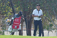 Christian Bezuidenhout (RSA) on the 5th during the Pro-Am of the Abu Dhabi HSBC Championship 2020 at the Abu Dhabi Golf Club, Abu Dhabi, United Arab Emirates. 15/01/2020<br /> Picture: Golffile | Thos Caffrey<br /> <br /> <br /> All photo usage must carry mandatory copyright credit (© Golffile | Thos Caffrey)