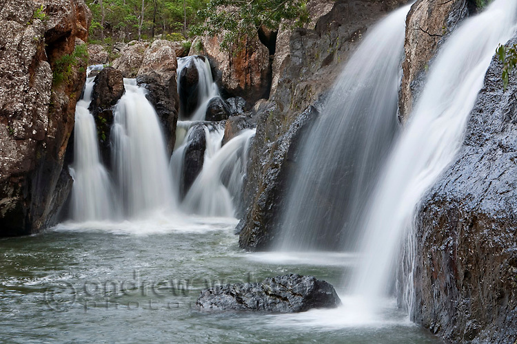 Little Millstream Falls.  Ravenshoe, Atherton Tablelands, Queensland, Australia