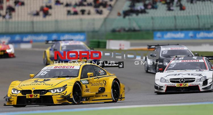 DTM 2015, 01.Lauf Hockenheimring, 01.05. - 03.05.15 <br /> Timo Glock (DEU#16) BMW Team MTEK BMW M4 DTM , Paul Di Resta (GBR#3) Silberpfeil Energy Mercedes-AMG C-Coup&eacute; <br /> <br /> <br /> <br /> Foto &copy; nordphoto /  Bratic