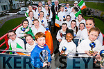 The Academy of Dance Team Ireland returns with a Gold World Cup Win in Jazz, a Silver for Character, a Silver for Classical, Bronze for Overall Choreography and the Special Overall Catalonia Award for the Most Outstanding of the International Teams on Tuesday