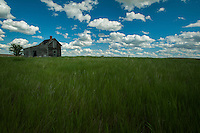 The Knudson Homestead in northeastern Montana.