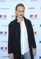 BEVERLY HILLS, CA - FEBRUARY 10: Nora Arnezeder, at Global CINEMATHEQUE presents the World Cinema Awards ceremony at the Residence du Consul de France in Beverly Hills California on February 10, 2020. <br /> CAP/MPIFS<br /> ©MPIFS/Capital Pictures