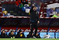 6th January 2020; Stadio San Paolo, Naples, Campania, Italy; Serie A Football, Napoli versus Inter Milan; Antonio Conte coach of Inter