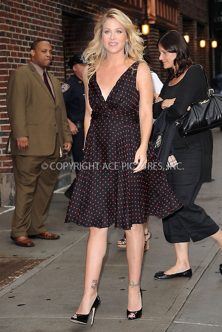 WWW.ACEPIXS.COM . . . . . .August 25 2010, New York City....Christina Applegate arrives at the Late Show with David Letterman on August 25, 2010 in New York City....Please byline: KRISTIN CALLAHAN - ACEPIXS.COM.. . . . . . ..Ace Pictures, Inc: ..tel: (212) 243 8787 or (646) 769 0430..e-mail: info@acepixs.com..web: http://www.acepixs.com .